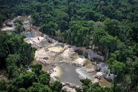 Garimpos Amazônia